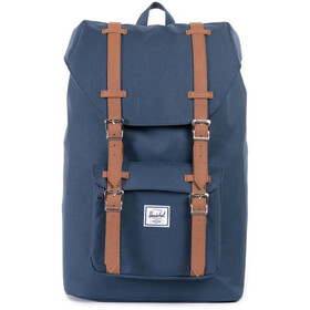 Herschel Little America Mid-Volume Zaino 17L, navy/tan